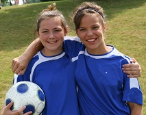 Travel soccer players